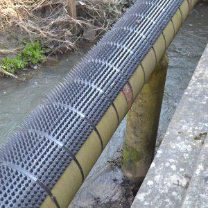pipe bridge security