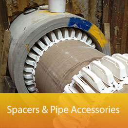 spacers pipe accessories